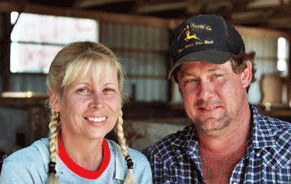 Tony and Connie Hipkins